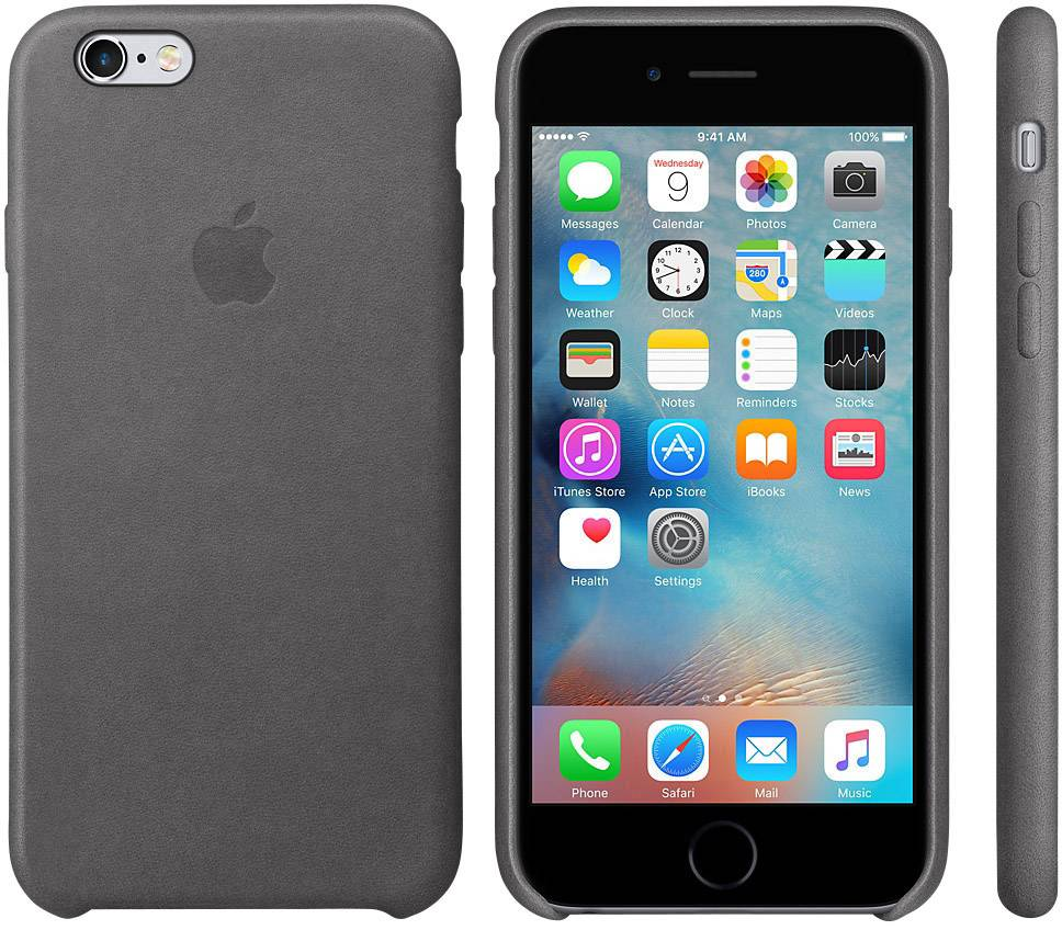 custodia iphone 6s in pelle di apple