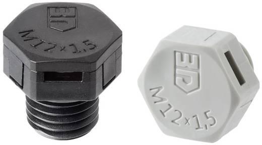 Druckausgleichselement M12 Polyamid Schwarz (RAL 9005) Jacob JDAE12PA/SW 1 St.