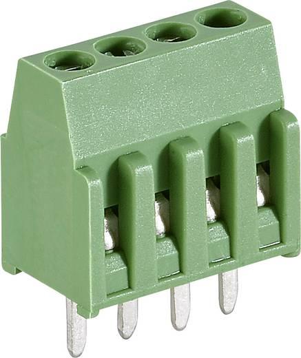 TE Connectivity 282834-4 Schraubklemmblock 1.4 mm² Polzahl 4 Grün 1 St.