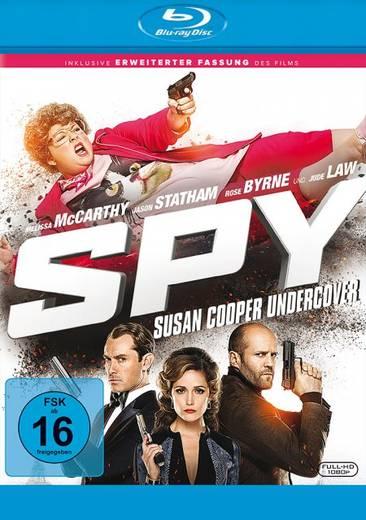 blu-ray Spy Susan Cooper Undercover Inkl. Erweiterter Fassung FSK: 16