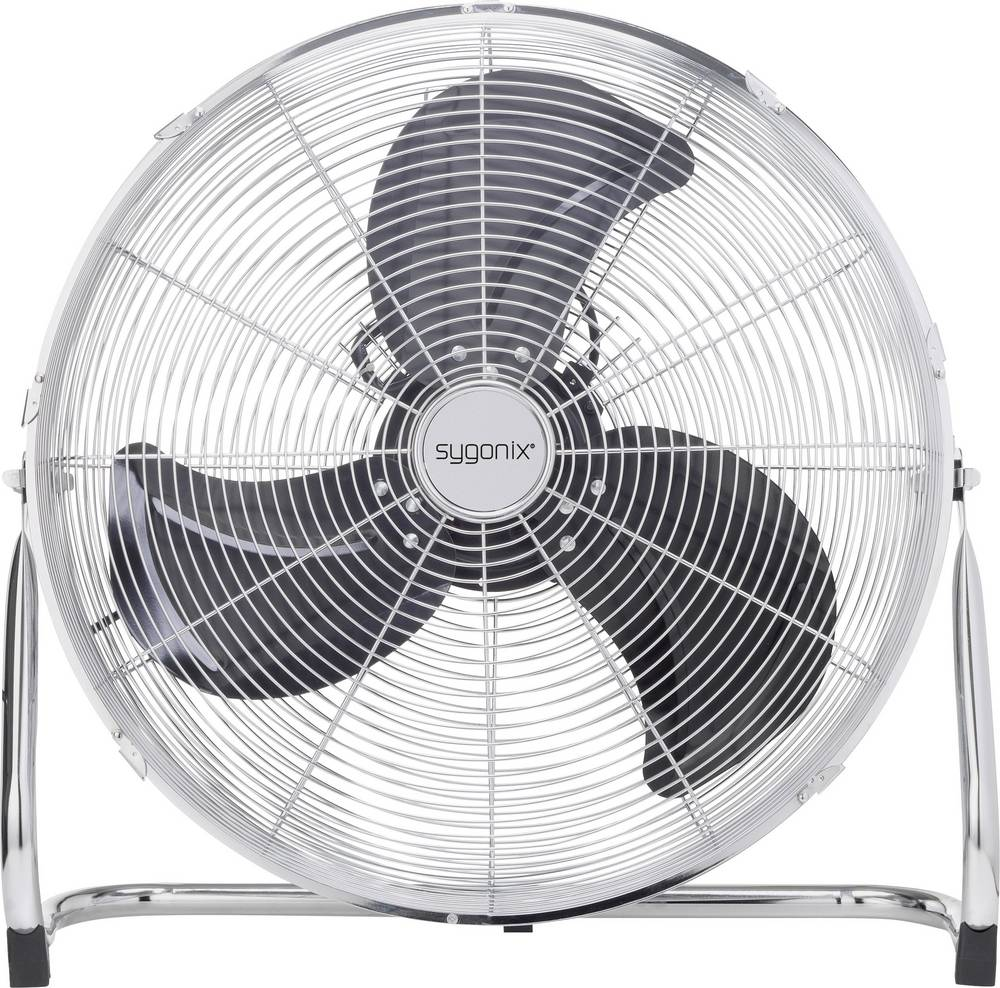 Ventilateur de sol Sygonix FE 50A 140 W argent