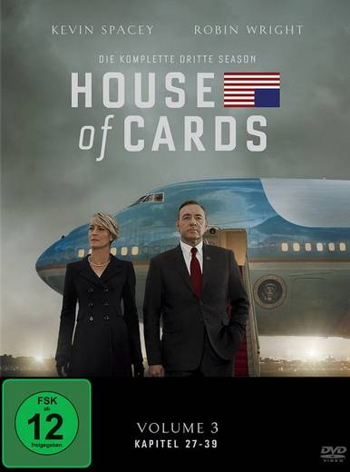 DVD House of Cards Staffel 03 FSK: 12