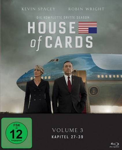 blu-ray House of Cards Staffel 03 FSK: 12