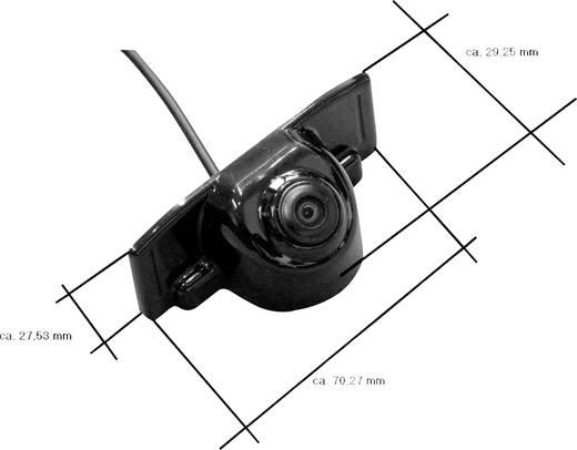Mac Audio RVC 1 Rückfahrkamera Kabel-Rückfahrkamera Aufbau Schwarz