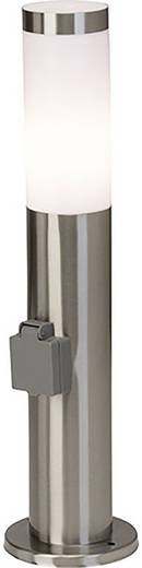 Außenstandleuchte Energiesparlampe E27 20 W Brilliant Chorus 43693/82 Edelstahl