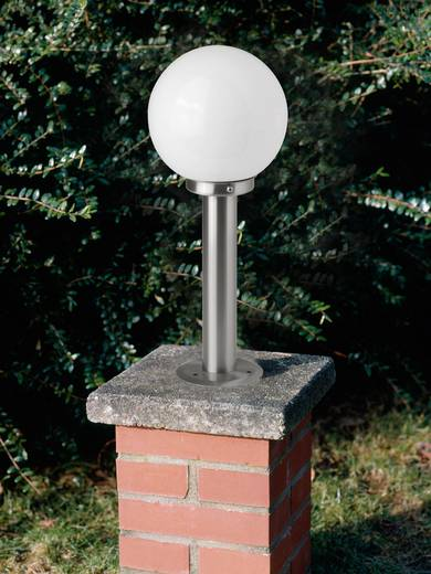 Außenstandleuchte LED E27 5.8 W Brilliant Aalborg G44084/82 Edelstahl