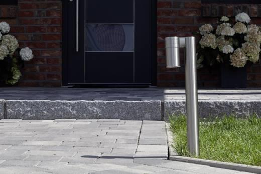 Außenstandleuchte LED GU10 3 W Brilliant Hanni G96255/82 Edelstahl
