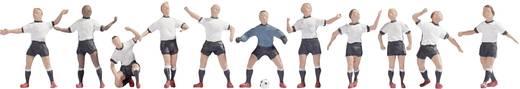 NOCH 15965 H0 Figuren Fußballteam Weiß/Schwarz