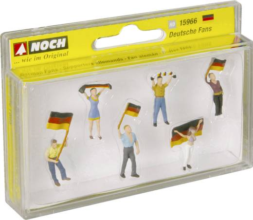 NOCH 15966 H0 Figuren Fans Deutsch