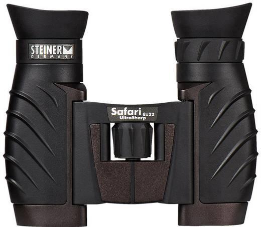 Fernglas Steiner Safari UltraSharp 8 x 22 mm Schwarz