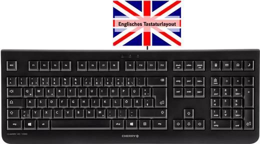 USB-Tastatur CHERRY KC 1000 Schwarz Englisch, QWERTY