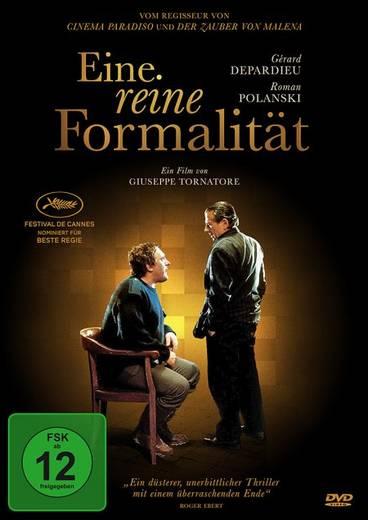 DVD Eine reine Formalität FSK: 12