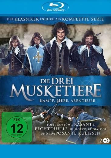blu-ray Die Drei Musketiere Kampf, Liebe, Abenteuer Die komplette Serie FSK: 12