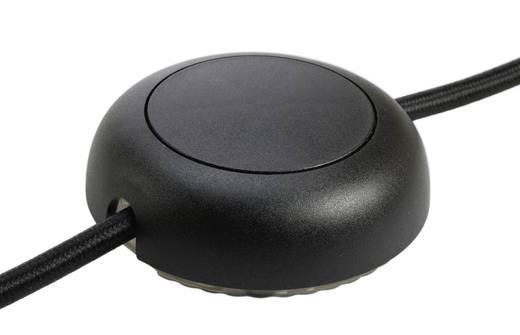 interBär 8124-004.01 LED-Schnurdimmer mit Schalter Schwarz 1 x Aus/Ein Schaltleistung (min.) 5 W Schaltleistung (max.)