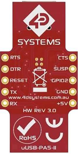 Entwicklungsboard 4D Systems UUSB-PA5-II