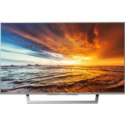 Sony BRAVIA KDL32WD757 LED TV 80 cm 32 palca en.trieda A (A ++ - E) DVB-T2, DVB-C, DVB-S, Full HD, Smart TV, WLAN, PVR ready, CI+ strieborná