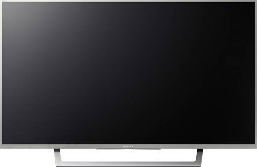 Sony BRAVIA KDL32WD757 LED-TV 80 cm 32 Zoll EEK A DVB-T2, DVB-C, DVB-S, Full HD, Smart TV, WLAN, PVR ready, CI+ Silber