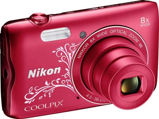 Nikon A-300 Digitalkamera 20.1 Mio. Pixel Opt. Zoom: 8 x Rot WiFi, Bluetooth