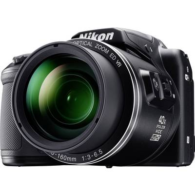 Nikon Coolpix B-500 Digitalkamera 16 Mio. Pixel Opt. Zoom: 40 x Schwarz Full HD Video, Kla Preisvergleich