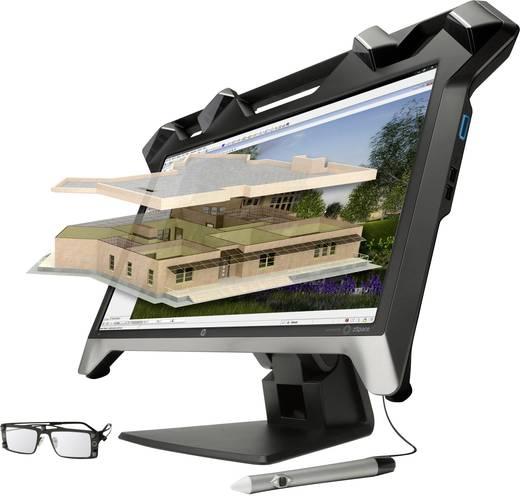 HP K5H59A4 Virtual Reality Display LED-Monitor 59.9 cm (23.6 Zoll) EEK n.rel. 1920 x 1080 Pixel Full HD 5 ms DVI, USB 2.