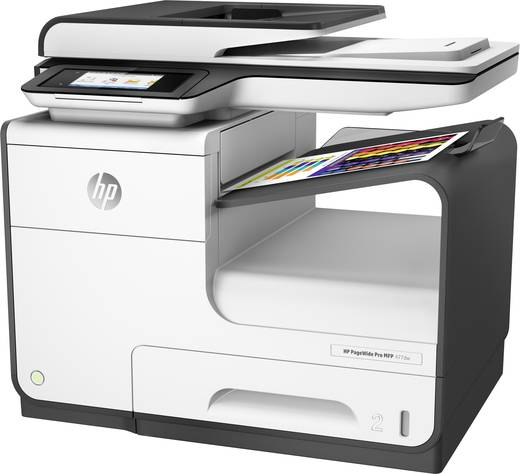 hp pagewide pro 477dw tintenstrahl multifunktionsdrucker a4 drucker scanner kopierer fax lan. Black Bedroom Furniture Sets. Home Design Ideas