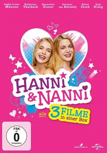 DVD Hanni & Nanni 1-3 FSK: 0