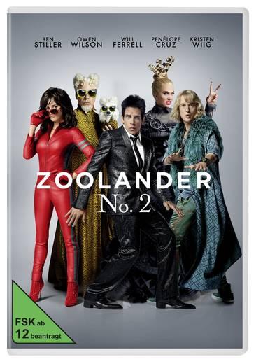DVD Zoolander No. 2 FSK: 12