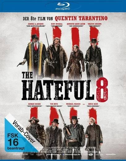 blu-ray The Hateful 8 FSK: 16