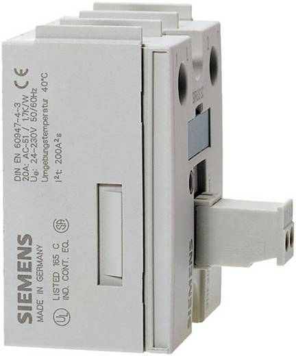 Halbleiterrelais 1 St. Siemens 3RF2020-1AA02 Last-Strom (max.): 20 A Nullspannungsschaltend