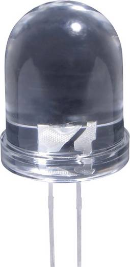LED bedrahtet Rot Rund 10 mm 1500 mcd 40 ° 20 mA 2 V L-813 SRC/C