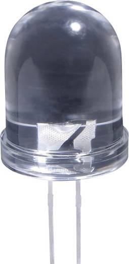 LED bedrahtet Rot Rund 10 mm 3000 mcd 20 mA 2.1 V Kingbright L-813SRC-J4