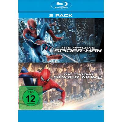 blu-ray The Amazing Spider-Man & The Amazing Spider-Man 2 Rise of Electro FSK: 12 Preisvergleich