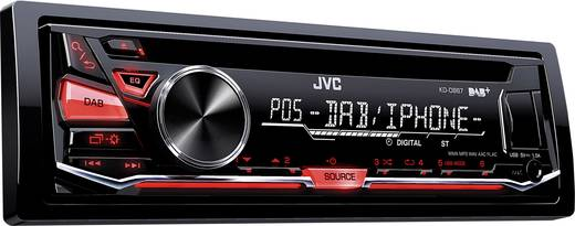 jvc kd db67e autoradio dab tuner inkl dab antenne. Black Bedroom Furniture Sets. Home Design Ideas