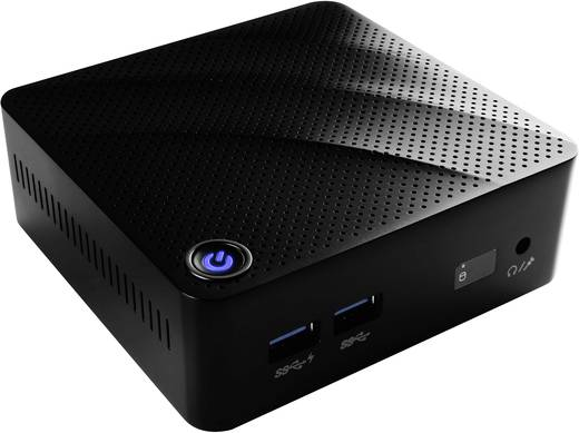 Mini-PC (HTPC) MSI N-073DE Intel® Celeron® N3160 (4 x 1.6 GHz) 4 GB 500 GB Windows® 10 Home