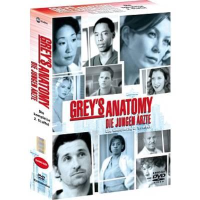 DVD Greys Anatomy Die jungen Ärzte Season 2 FSK: 12 Preisvergleich