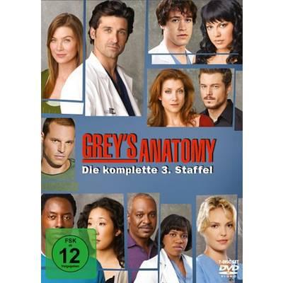 DVD Greys Anatomy Die jungen Ärzte Season 3 FSK: 12 Preisvergleich