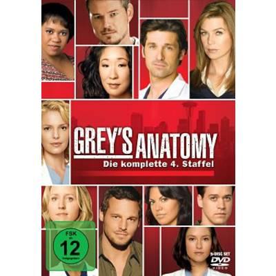 DVD Greys Anatomy Die jungen Ärzte Season 4 FSK: 12 Preisvergleich