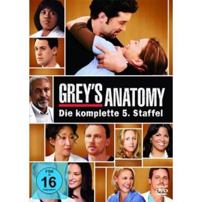 DVD Greys Anatomy Die jungen Ärzte Season 5 FSK: 16 Preisvergleich
