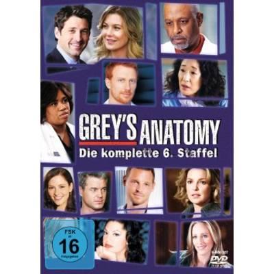 DVD Greys Anatomy Die jungen Ärzte Season 6 FSK: 16 Preisvergleich