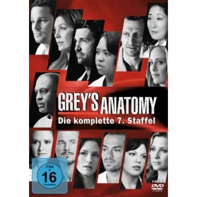 DVD Greys Anatomy Die jungen Ärzte Season 7 FSK: 12 Preisvergleich