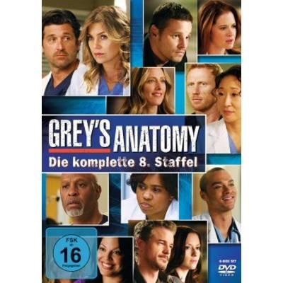 DVD Greys Anatomy Die jungen Ärzte Season 8 FSK: 16 Preisvergleich