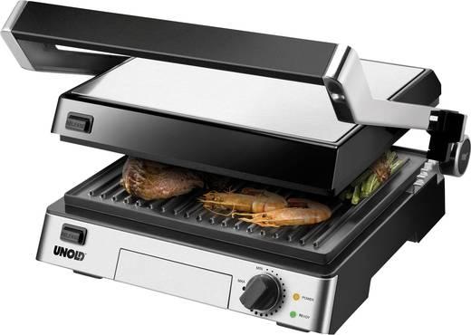 tisch kontakt grill unold contact grill steak schwarz edelstahl kaufen. Black Bedroom Furniture Sets. Home Design Ideas