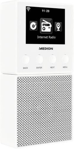 Přenosné internetové rádio do zásuvky Medion E85032 (MD 87248) s Wi-Fi, bílá