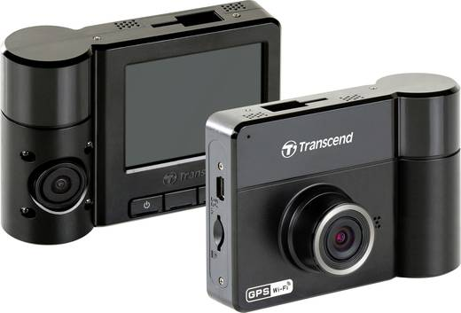 dashcam mit gps transcend drivepro 520 blickwinkel horizontal max 130 12 v 24 v dual kamera. Black Bedroom Furniture Sets. Home Design Ideas