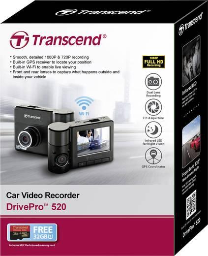 transcend drivepro 520 dashcam mit gps blickwinkel. Black Bedroom Furniture Sets. Home Design Ideas