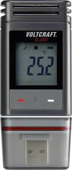 Enregistreur de données VOLTCRAFT DL-200T Unité de mesure température -30 à +60 °C fonction PDF Etalonnage d'usin