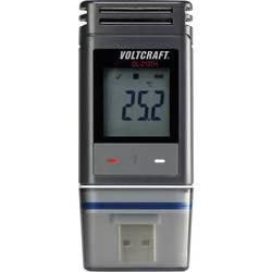 Teplotný datalogger, vlhkostný datalogger VOLTCRAFT DL-210TH, Merné veličiny teplota, vlhkosť vzduchu