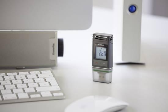 Temperatur Datenlogger zur Messung von Umweltbedingungen
