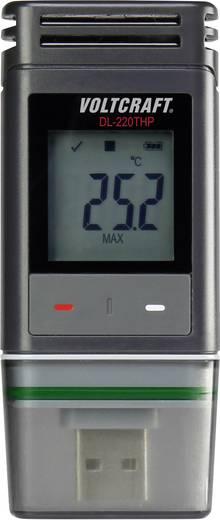 Temperatur-Datenlogger, Luftfeuchte-Datenlogger, Luftdruck-Datenlogger VOLTCRAFT DL-220THP -30 bis +60 °C 0 bis 100 % r