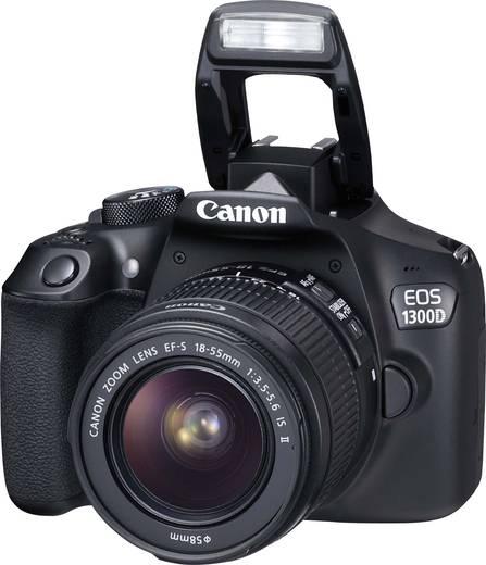 canon eos 1300d kit digitale spiegelreflexkamera ef s 18 55 mm is ii 18 mio pixel schwarz full. Black Bedroom Furniture Sets. Home Design Ideas